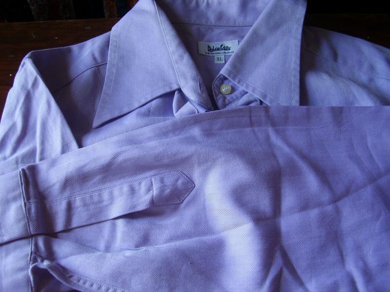 Итальянская  нарядная коттоновая  рубашка