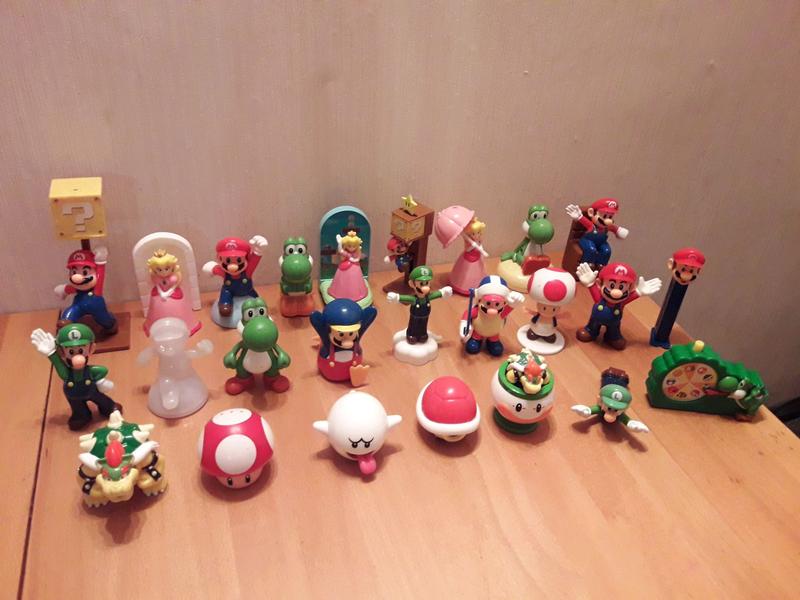 McDonalds Happy Meal Super Mario Nintendo, Супер Марио, Луиджи - Фото 2