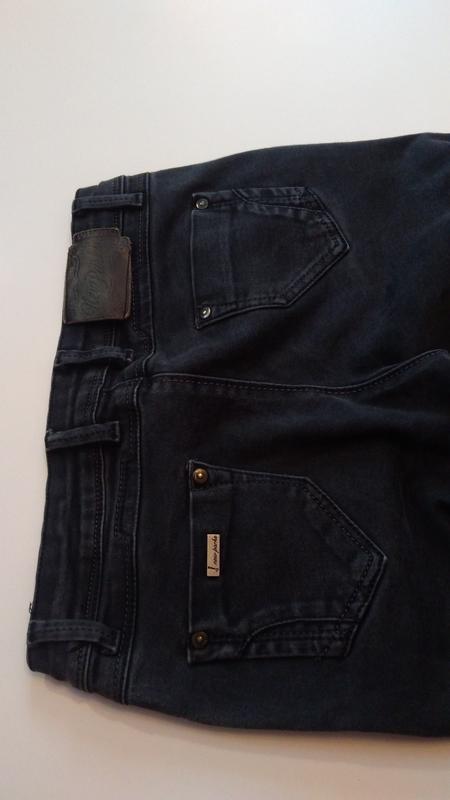 Стрейчевые, темно-серые штаны турция - Фото 5