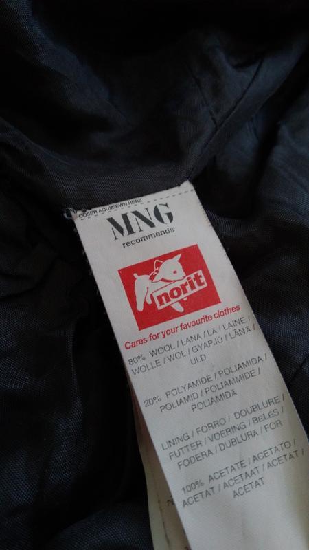 Кашемировый серый пиджак на пуговицах размер 40 - Фото 5