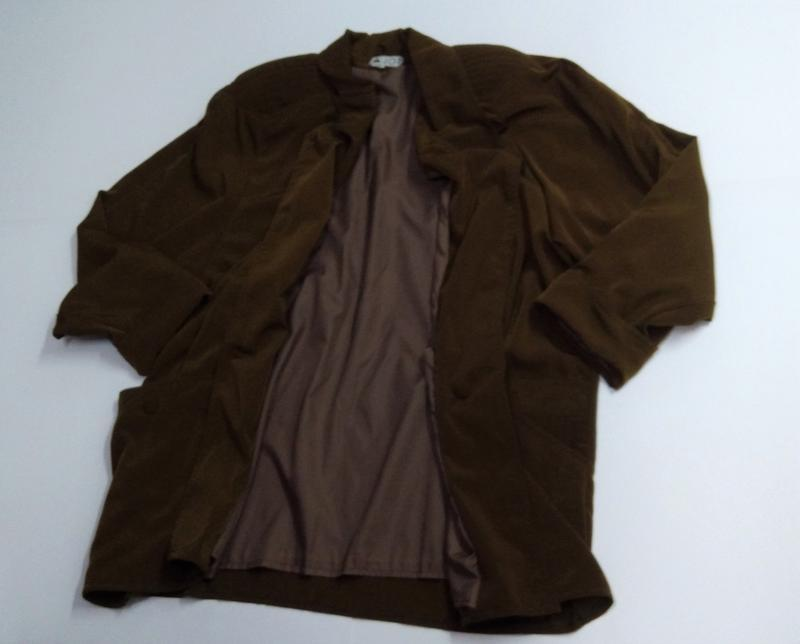 Стильный пиджак xxl - Фото 4