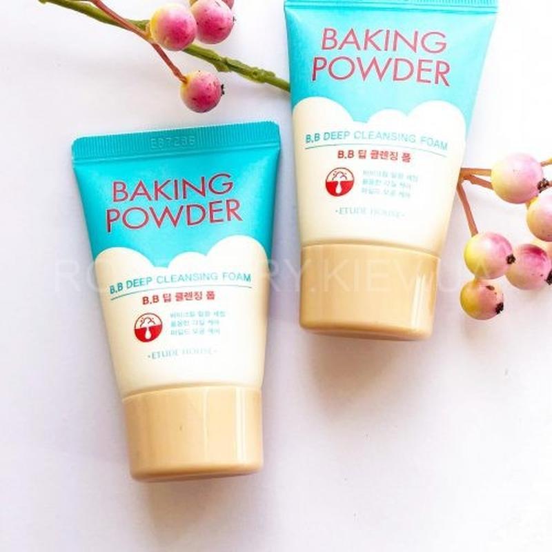 Пенка для умывания etude house baking powder bb deep cleansing...