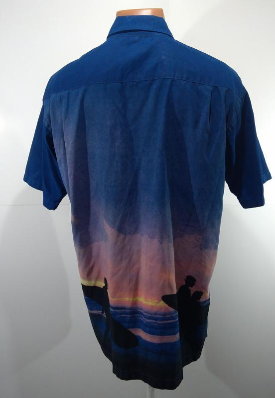 Рубашка мужская angelo litrico размер l - Фото 3