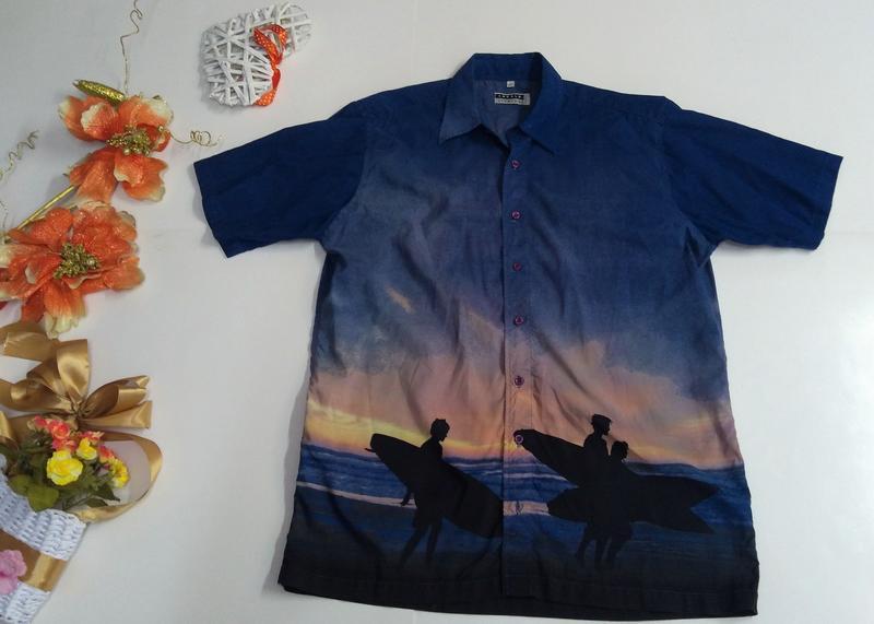 Рубашка мужская angelo litrico размер l - Фото 5