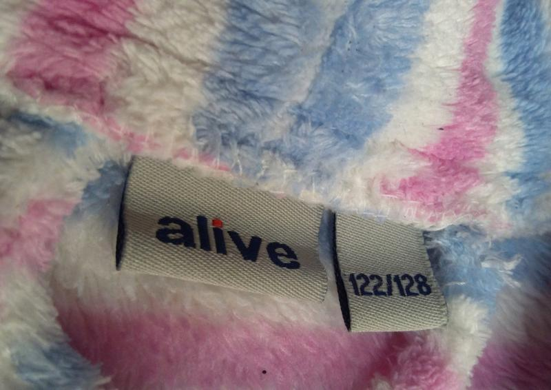Халат для девочки alive размер 122-128 - Фото 2