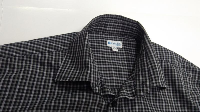 Мужская рубашка фирменная reward размер m - Фото 3
