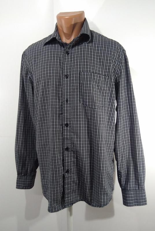 Мужская рубашка фирменная reward размер m - Фото 7