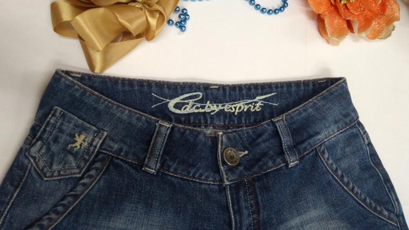 Шорты джинсовые женские размер 36 - Фото 2
