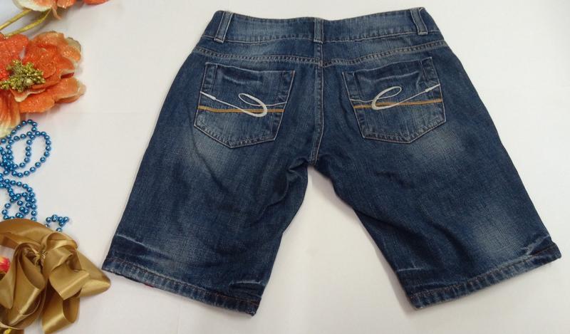 Шорты джинсовые женские размер 36 - Фото 4