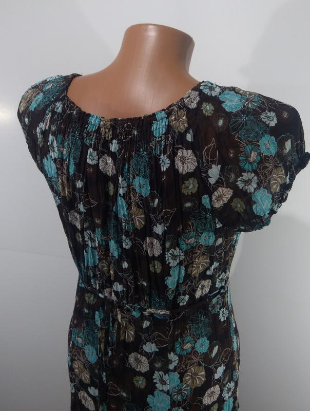 Летнее платье s. oliver размер 42 - Фото 4