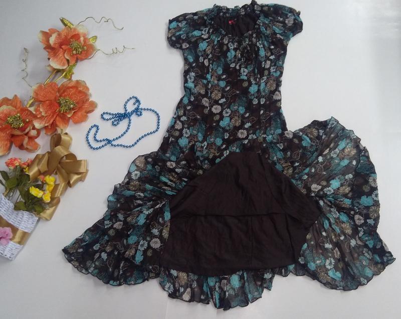 Летнее платье s. oliver размер 42 - Фото 5