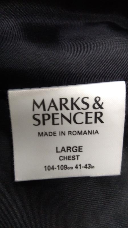Черный удлиненный пиджак на потайных пуговицах размер 52 - Фото 3