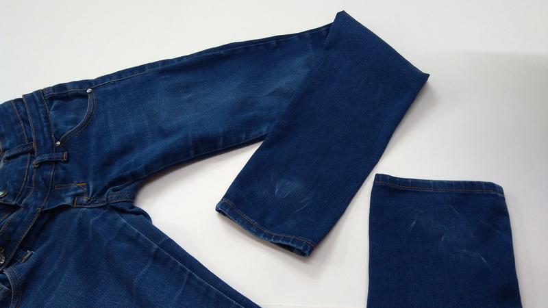 Эластичные зауженные джинсы miss anna размер 38 - Фото 5