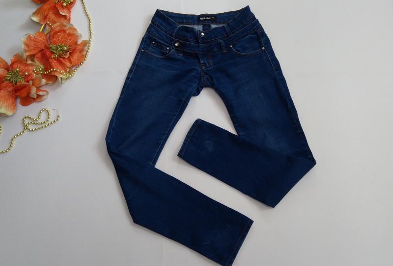 Эластичные зауженные джинсы miss anna размер 38 - Фото 7