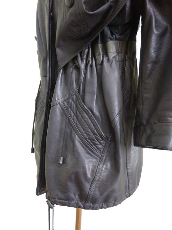 Кожаная куртка  размер 48-50 - Фото 2