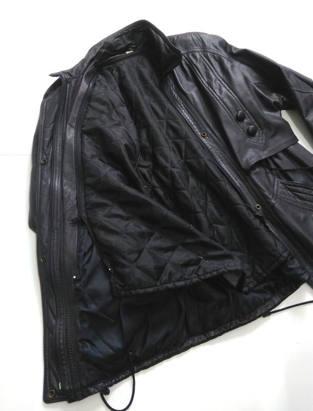 Кожаная куртка  размер 48-50 - Фото 4