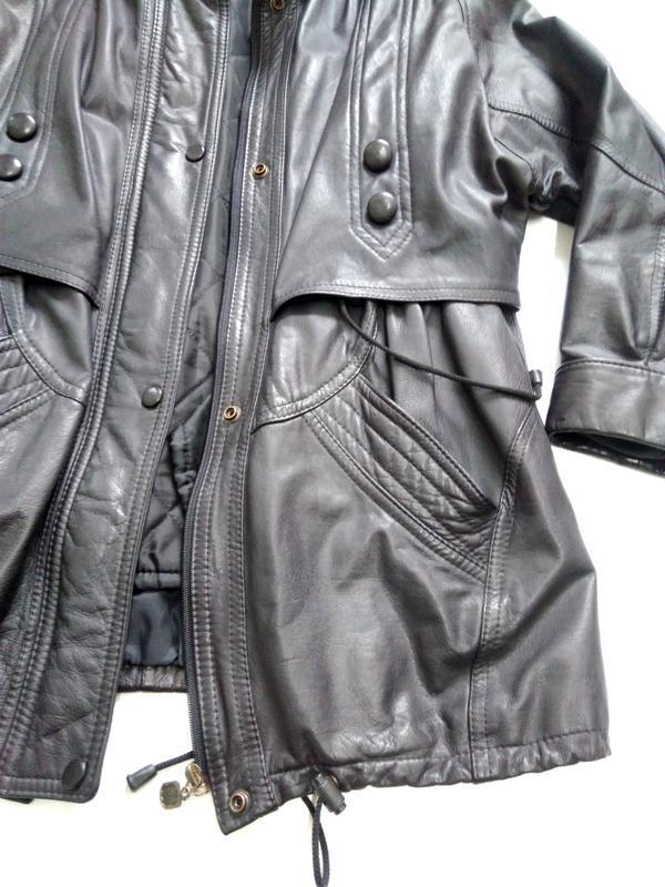 Кожаная куртка  размер 48-50 - Фото 5