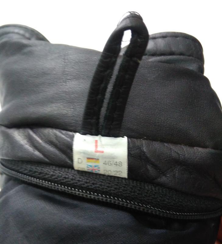 Кожаная куртка  размер 48-50 - Фото 6