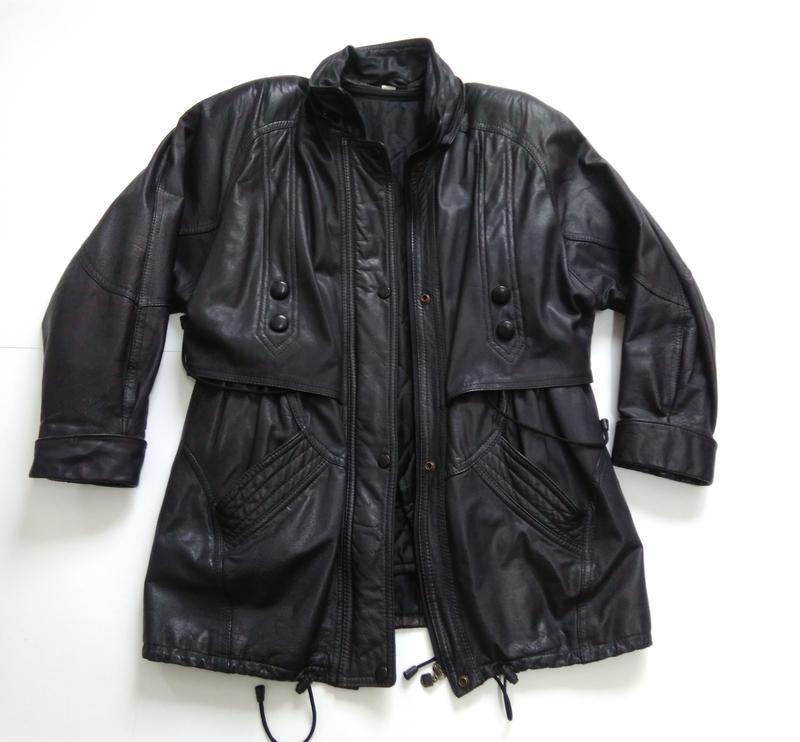 Кожаная куртка  размер 48-50 - Фото 8