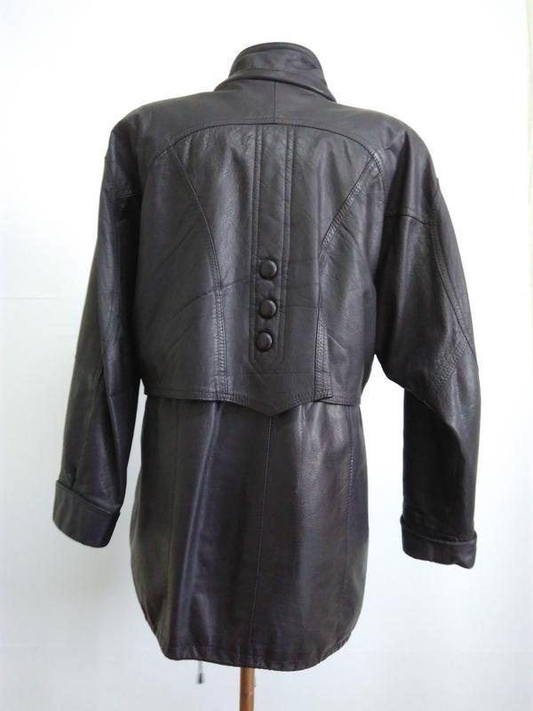 Кожаная куртка  размер 48-50 - Фото 10