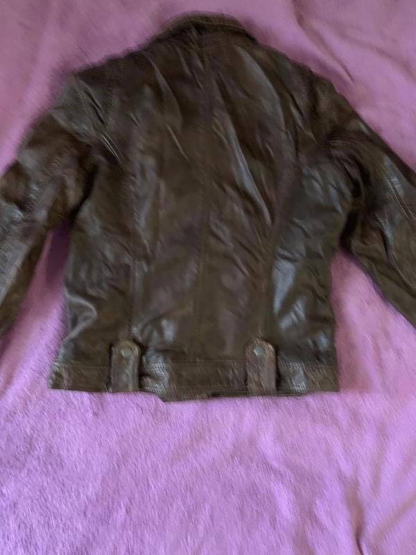 Кожаная курточка Mauritius - Фото 2