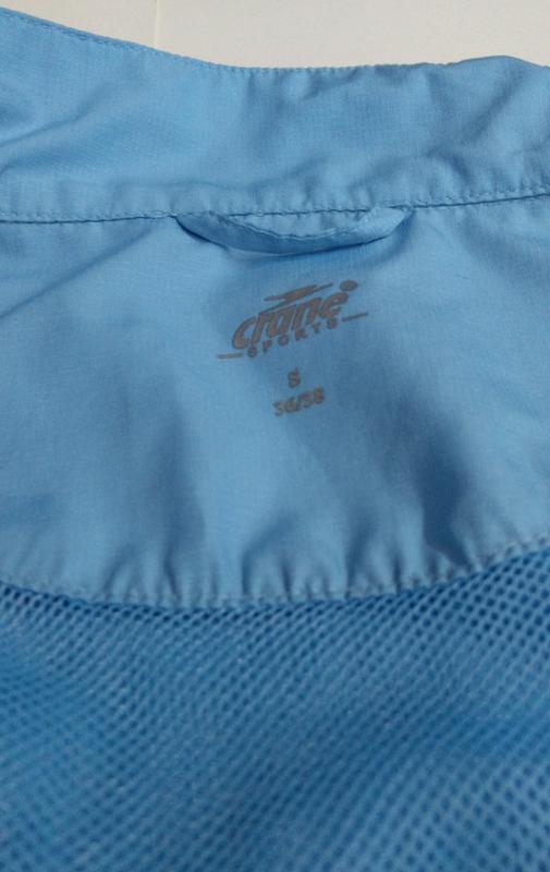 Голубая ветровка + жилетка размер s - Фото 2