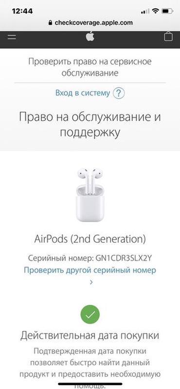 AirPods 2  Apple original  Аирподс - Фото 6