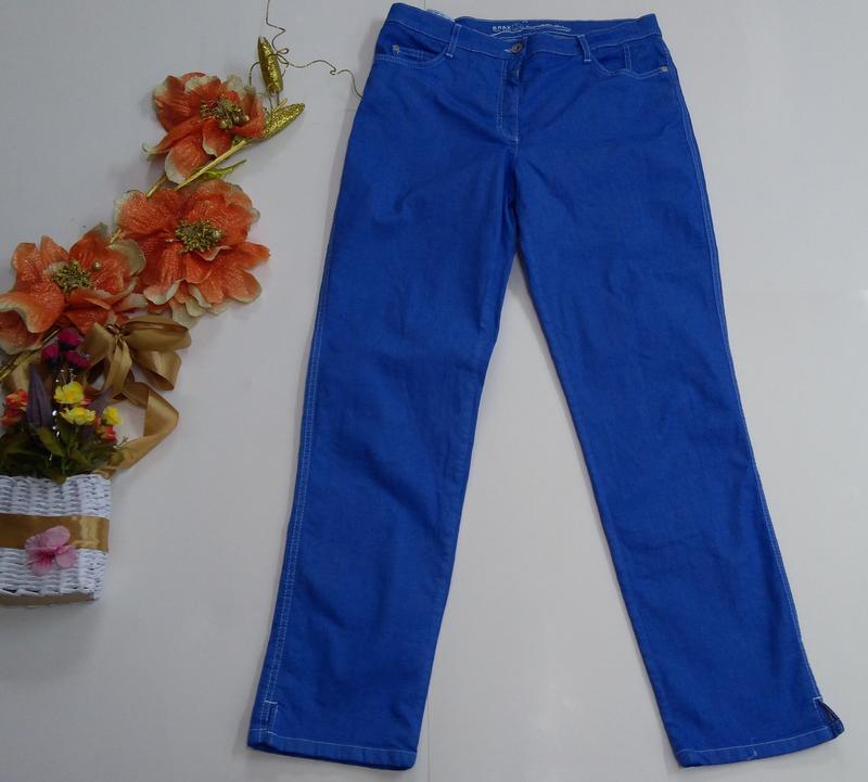 Яркие эластичные женские джинсы германия размер 42 - Фото 2