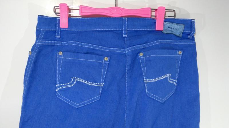 Яркие эластичные женские джинсы германия размер 42 - Фото 4