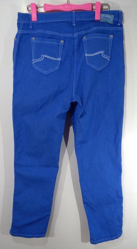 Яркие эластичные женские джинсы германия размер 42 - Фото 5