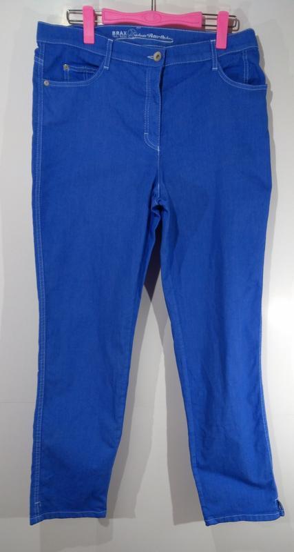 Яркие эластичные женские джинсы германия размер 42 - Фото 6
