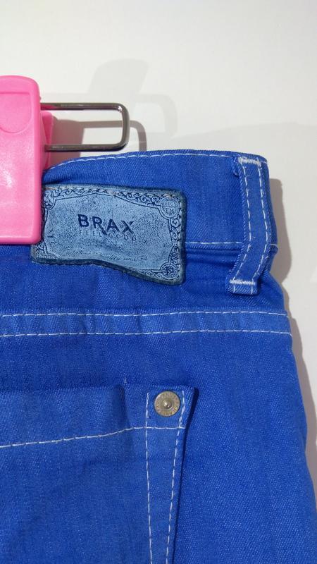 Яркие эластичные женские джинсы германия размер 42 - Фото 8