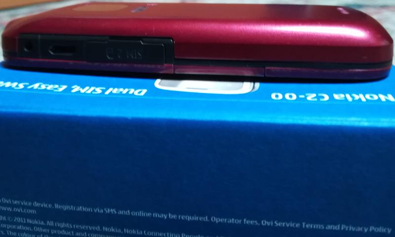 Nokia C2-00 Dual SIM, Easy Swap (red) - Фото 10