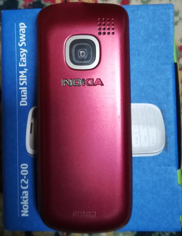 Nokia C2-00 Dual SIM, Easy Swap (red) - Фото 7