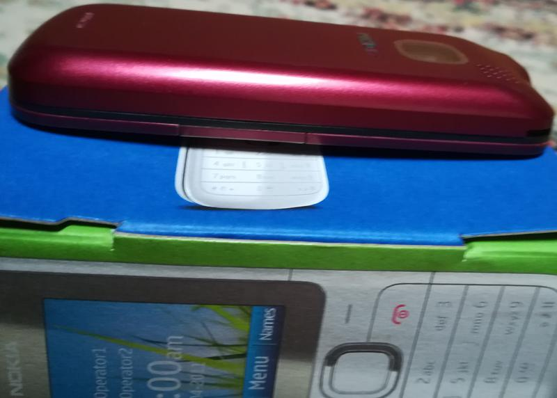 Nokia C2-00 Dual SIM, Easy Swap (red) - Фото 8