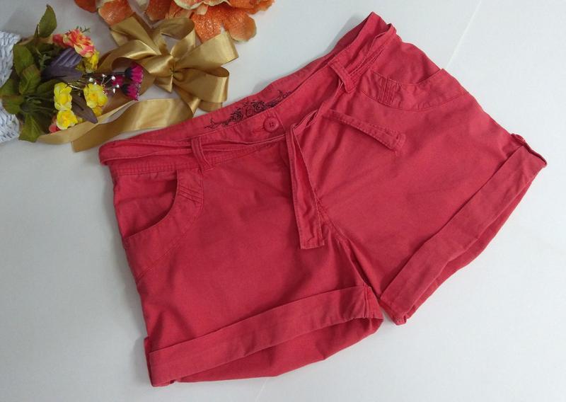 Стильные короткие шорты размер 42 - Фото 4