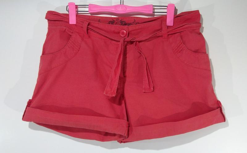 Стильные короткие шорты размер 42 - Фото 6