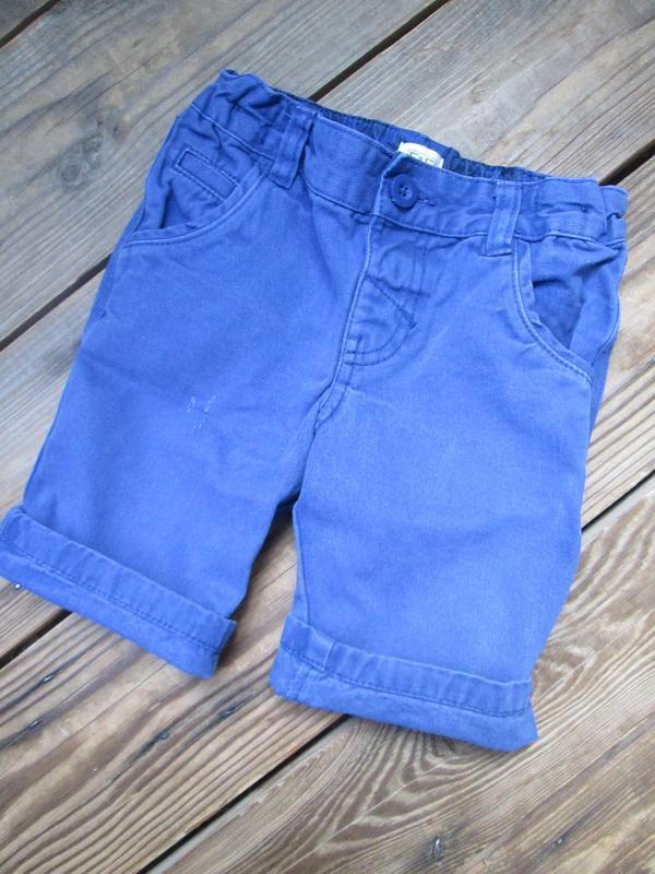 Котоновые шорты шортики f&f на 2-3 г., состояние отличное