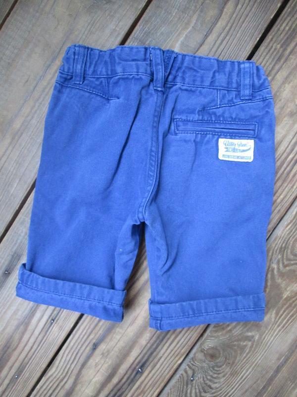Котоновые шорты шортики f&f на 2-3 г., состояние отличное - Фото 4