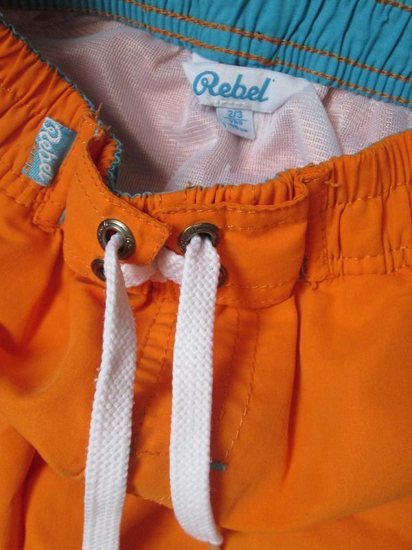 Яркие плавательные шорты, шорты с плавками от rebel на 2-3 год... - Фото 2