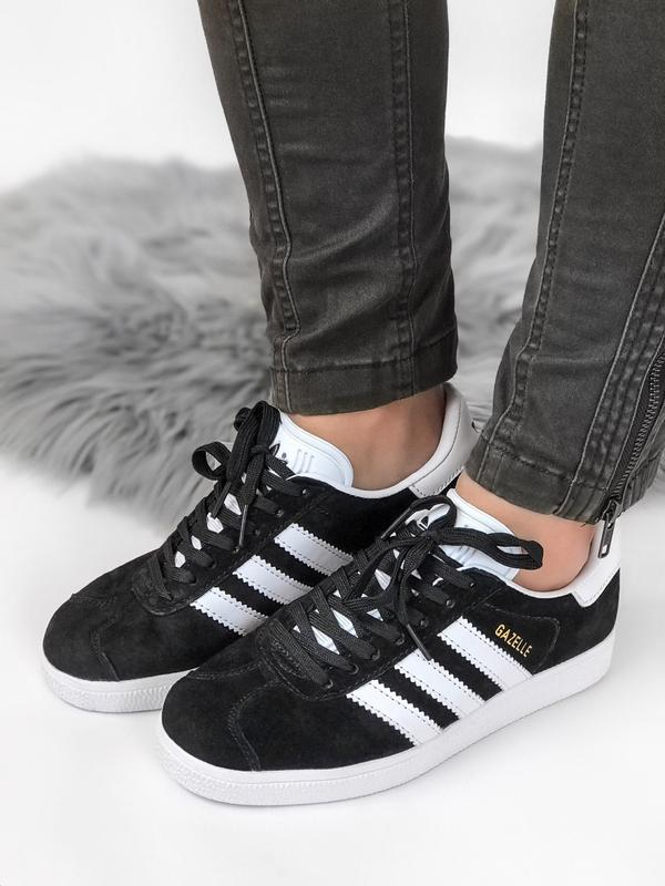 Кроссовки Adidas Gazelle Black - Фото 2