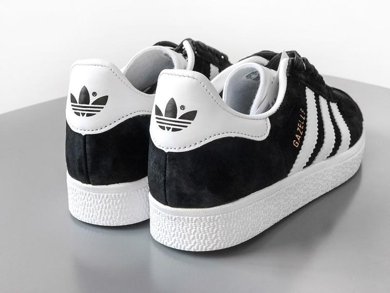 Кроссовки Adidas Gazelle Black - Фото 8