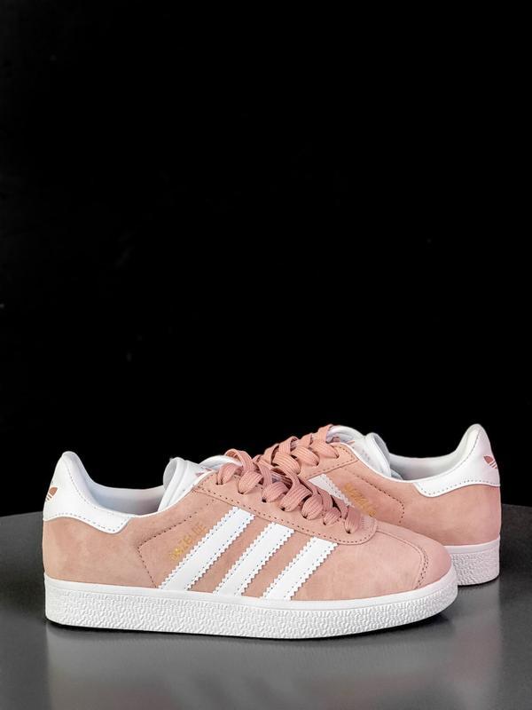 Кроссовки Adidas Gazelle Pink - Фото 2