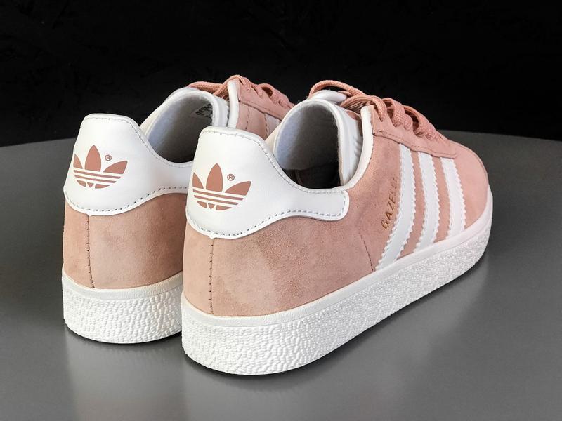 Кроссовки Adidas Gazelle Pink - Фото 4