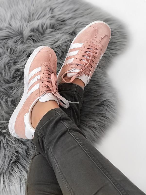 Кроссовки Adidas Gazelle Pink - Фото 6