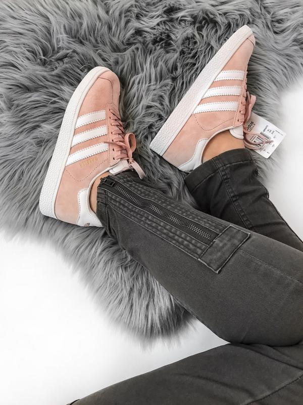 Кроссовки Adidas Gazelle Pink - Фото 8