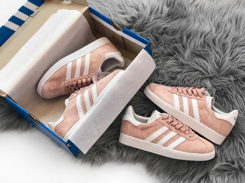 Кроссовки Adidas Gazelle Pink - Фото 9
