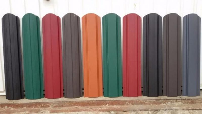 Забор жалюзі, штахети, паркан, штахетник, євроштахетник - Фото 3