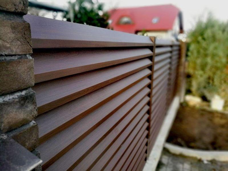 Забор жалюзі, штахети, паркан, штахетник, євроштахетник - Фото 9