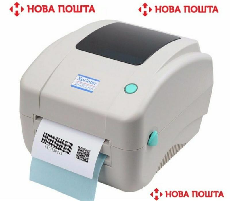 Термо принтер этикеток Xprinter XP-DT425B (USB) ширина печати 108